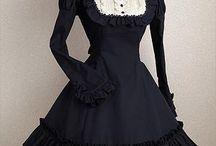 suknie gotyckie i wiktoriańskie