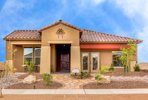 The Mayfair / An open concept ranch style home, The Mayfair offers three bedrooms, a study, and covered patio. desertviewhomes.com/plans/mayfair/