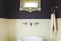 bathroom makeover / by Gill Barry