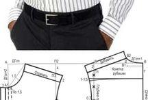 pola dan model baju pria