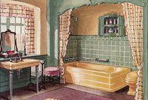 Watercolor interiors