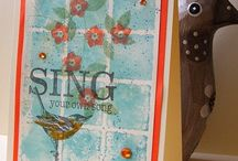 Cards-Grids and Inchies / by Linda Morgan