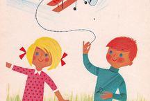 Children's vintage illustrations I love