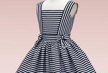Stripes dresses