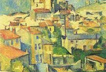 Paul Cezanne / landschappen van Paul Cezanne