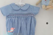 Hand Smocked baby dresses