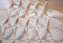 fabric manupilation