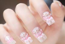 nails kawaii カワイイ ネイル :*:・(*´ω`pq゛