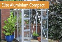 Elite Greenhouses / Elite greenhouses are manufactured and delivered from their plant in Bolton. With 60 years of successful British manufacturing Elite greenhouses have stood the test of time. Using quality materials and parts these are one of the strongest aluminium greenhouses you can buy. All Elite greenhouses are made to order and can be fully customised by the customer with a huge range of options. colours and accessories. Backed up with a 10 year frame guarantee.