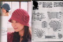 Čepice, klobouky - háčkování