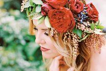 Bridal Wreaths / Head Gear