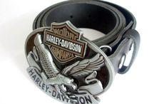Cintos com Fivelas Harley Davidson