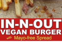 Vegan burger/dressing