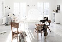 wood&white interiors