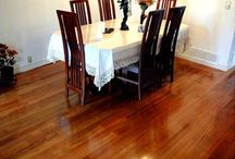 Hardwood Flooring / Wood flooring is any product manufactured from timber that is designed for use as flooring, either structural or aesthetic. Wood is a common choice as a flooring material due to its environmental profile, durability, and restorability