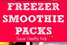 Smoothie Frozen Packs