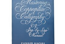 Calligraphy books / These have been my favorites over the years!