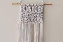 DIY - Macrame / Weaving