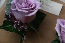 Ślub w odcieniach fioletu i mięty