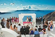Santorini Wedding Ceremony @ Dana Villas Wedding Terrace
