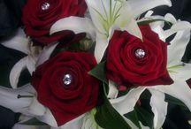 Elegant wedding bouquets / By Grace, Peamore Flora