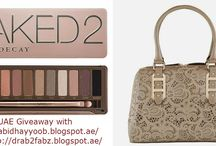 Giveaway with Abidha Ayoub and Irene Joseph! (Beauty Bloggers) / http://abidhayyoob.blogspot.ae/  -   http://drab2fabz.blogspot.ae/