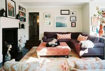 Rooms with brown sofas