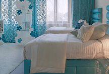 Blue Tween Bedroom
