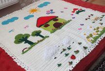 ürünlerim / bebek  battaniyesi