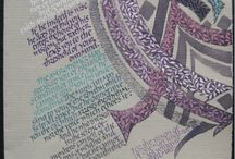Calligraphy / Beautiful pieces of art with the use of pen and paper.
