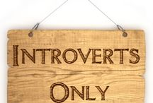 Introverts Unite!  Separately.