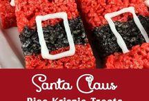 Santa holiday theme