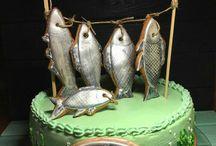 Мужские торты