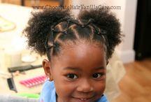 P/ o cabelo da sobrinha / Cabelo afro infantil