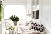 Gemütliche terrasse