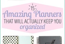 Planner, bullet journal - tervező