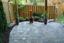Patios / Various styles of patios designed and installed by Campbell & Ferrara.