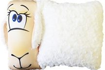 Подушки-антистрессы / Подушки и игрушки-антистресс с наполнителем из полистирола