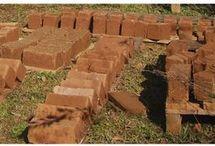 tijolos de diversos