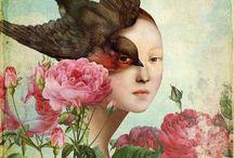 """Art Surréaliste / Artistes divers - """" La peinture est une poésie muette..."""" Marie-Philippe Commetti"""