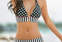 bathing suits/ vestidos de baño