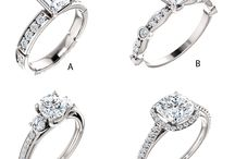 Engagement Rings / Styles we love.  Find your  perfect ring at Diamontrigue of Lubbock..the intelligent alternative to genuine diamonds, and only a jeweler can tell the difference.....