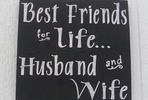 All things husband!  K.C.J.