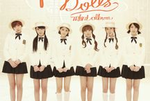 """F-ve Dolls / F-ve Dolls (Korean: 파이브돌스; sometimes stylized as F-VE DOLLS, formerly known as 5dolls) were a South Korean female pop group. They debuted with two single tracks, """"Lip Stains"""" (입술자국) and """"I Mean You"""" (너 말이야), in 2011. The group officially disbanded on March 10, 2015."""