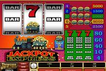 Jackpot Express / Jackpot Express è una delle tradizionali slot machine a 3 rulli proposte dal Casinò Online Voglia di Vincere. Nonostante riproduca fedelmente le classiche slot a rulli, Jackpot Express ha due caratteristiche insolite, ossia la presenza, da una parte, di un simbolo jolly e, dall'altra, di più di una payline attiva.