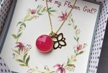message card jewelry