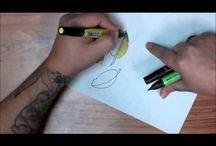 Prismacolor markers / by Paula Ganyard