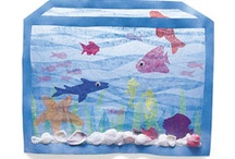 Kindergarten Crafts and Bulletin Boards / Ideas for creating cute crafts & bulletin boards