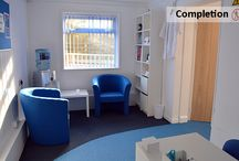 Lordswood Osteopathic Clinic / Complete design, refurbishment and fit out of new Lordswood Osteopathic Clinic with top of the range surgery facilities. This area has been planned to allow the business to grow.