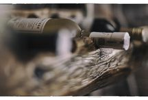 meble z drewna / Stojak na wino ze starego drewna